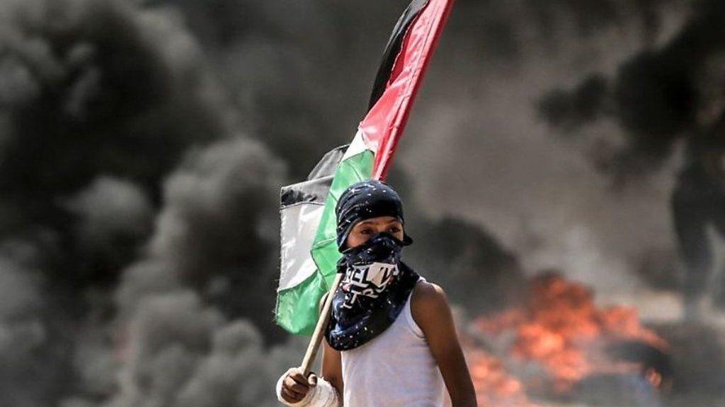 ガザで抗議集会にイスラエル軍発砲 近年最悪の死傷者数