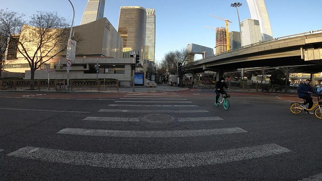 人のいない北京市内を歩く 新型コロナウイルスの影響